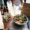 En version salade