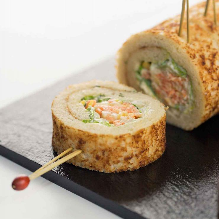 Le Bread Maki en version traiteur by Thierry Marx