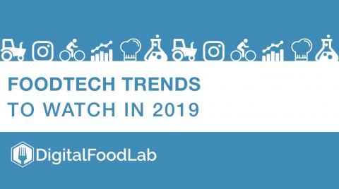 Les tendances foodtech à suivre en 2019 par DigitalFoodLab