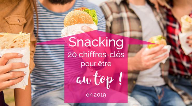 le snacking en 2019 : 20 chiffres-cles pour être au top !