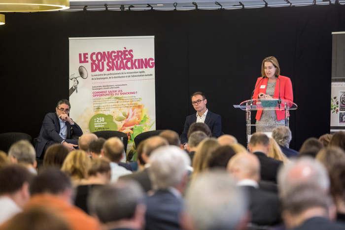 Congrès du Snacking Maria Bertoch Nicolas Nouchi Paul Fedèle
