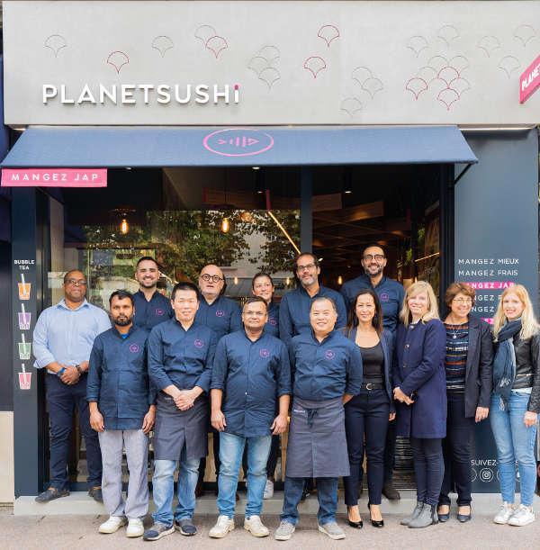 planet Sushi equipe