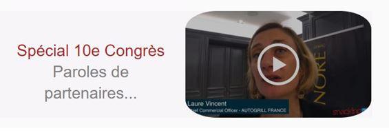 Congres du snacking Autogrill Laure Vincent