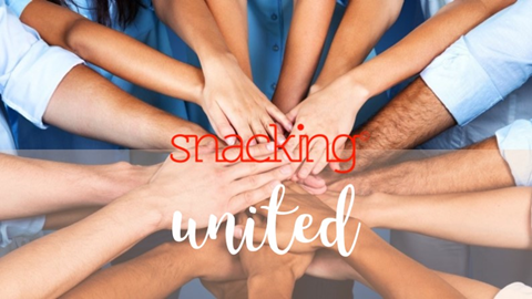 #snackingunited