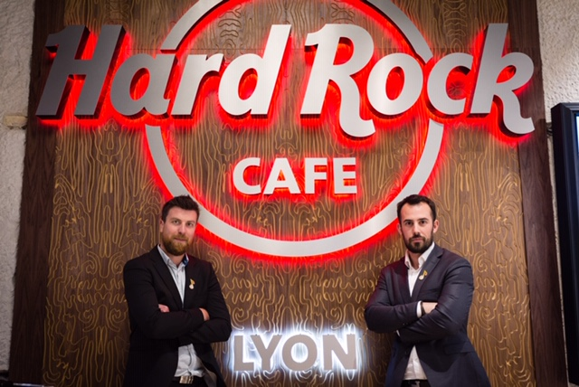 Hard rock café Lyon Copper Branch