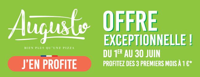 Bénéficiez des services d'<a href='./fournisseur-1338-Augusto-Pizza.php' class='fournisseur-link'>Augusto Pizza</a> à 1 € par mois pendant 3 mois