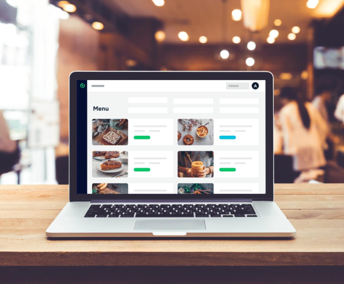 menu management via la solution Deliverect