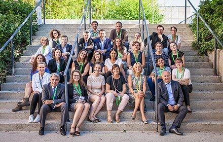 sirha green, photo de groupe des organisateurs gl events