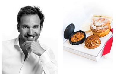Christophe Michalak signe les desserts de Autret Traiteur pour la Galerie Culinaire