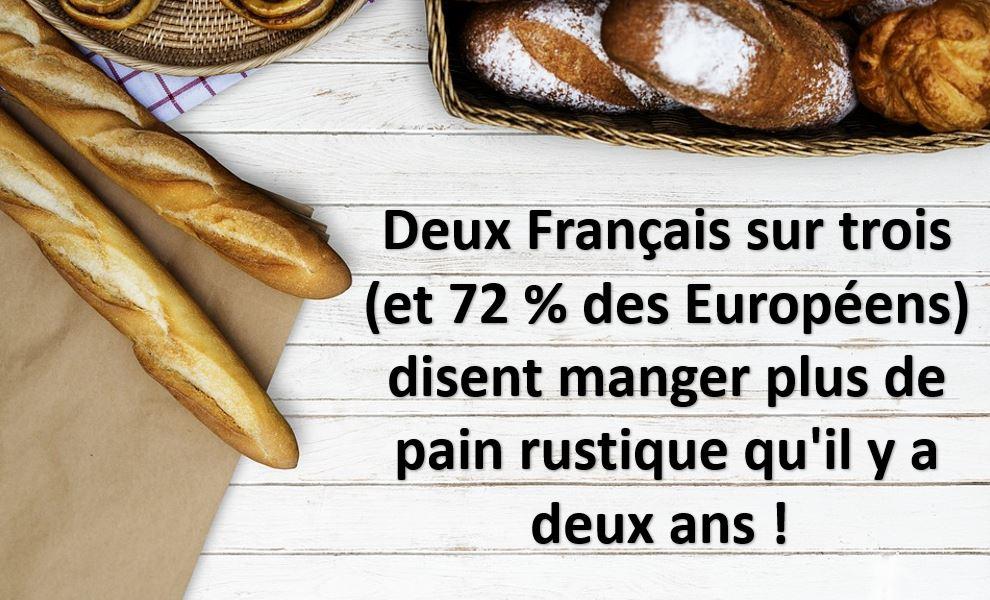le pain rustique préféré par les français
