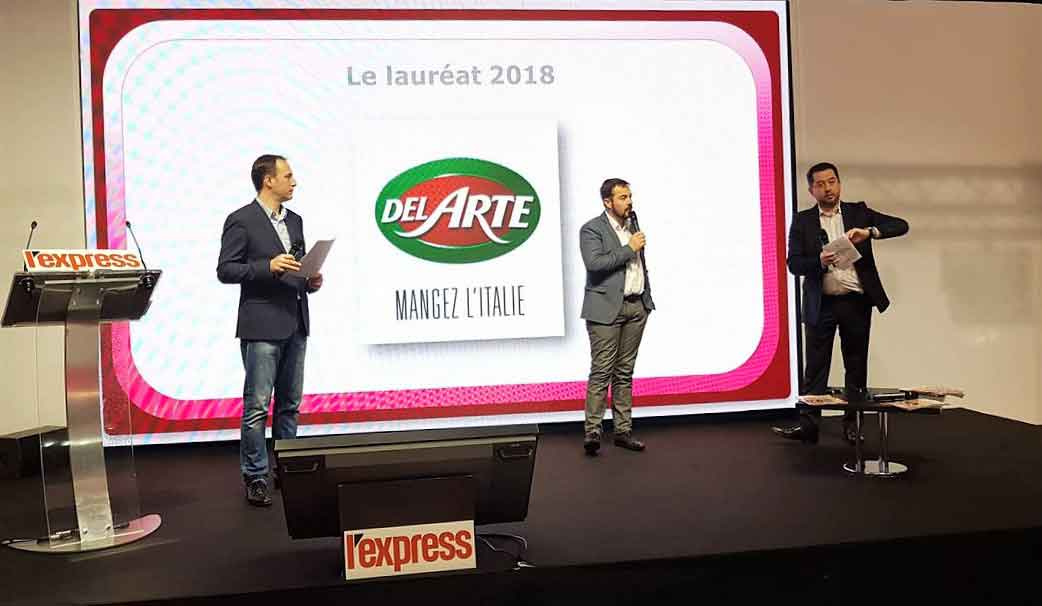 del-arte-groupe-le-duff primé à franchise expo 2018