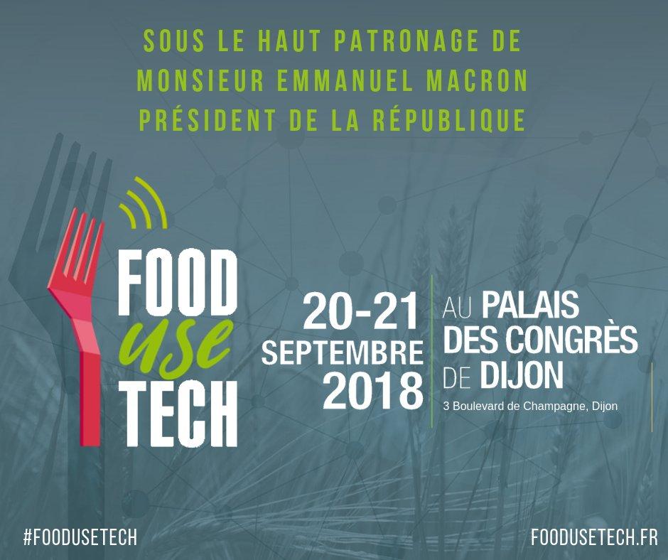 foodusetech-emmanuel-macron-presidence-2018
