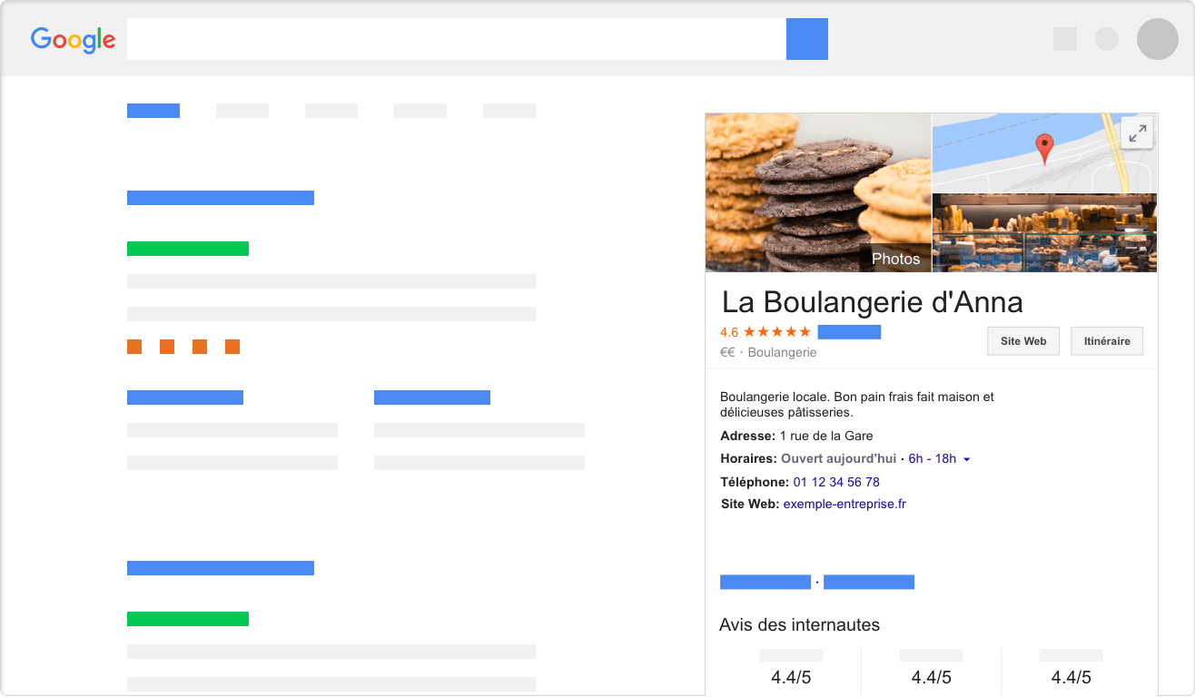 Google My Business afin d'augmenter la trouvabilité de son restaurant dans la food