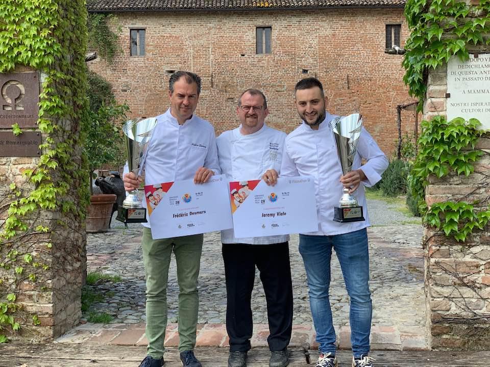 Jeremy Viale et Frederic Desmurs, champions du Monde de Pizza 2019 à Due