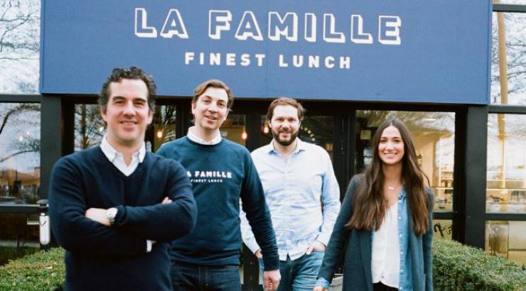 Jean-Louis Flipo, Grégoire Nicol, Louis O'Neill et Marine Pugnat les associés créent LA FAMILLE FINEST LUNCH à Lille + Paris