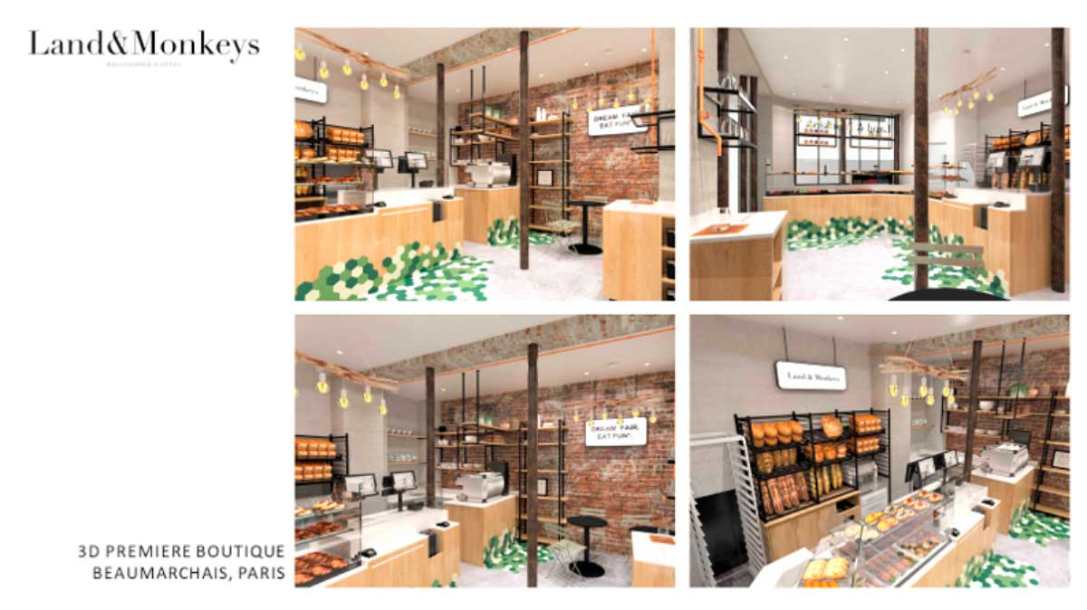 Lands&Monkeys boulangerie 100 % vegan Paris - Rodolphe Landemaine