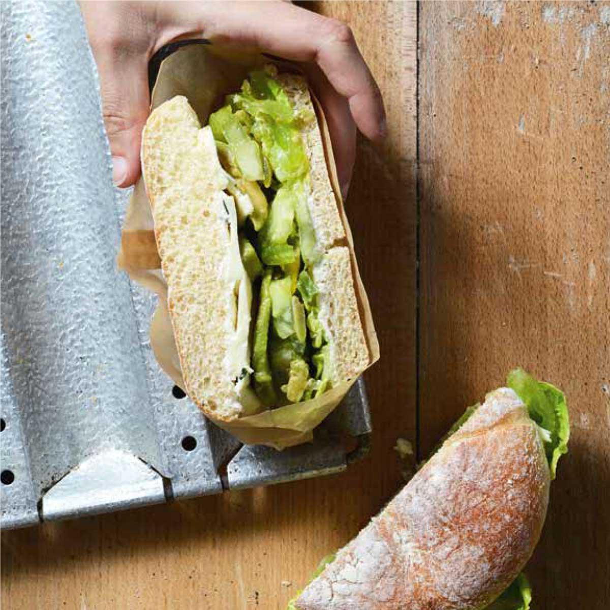 le sandwich bien goutu par Victor et Cie, découvrez la recette snacking