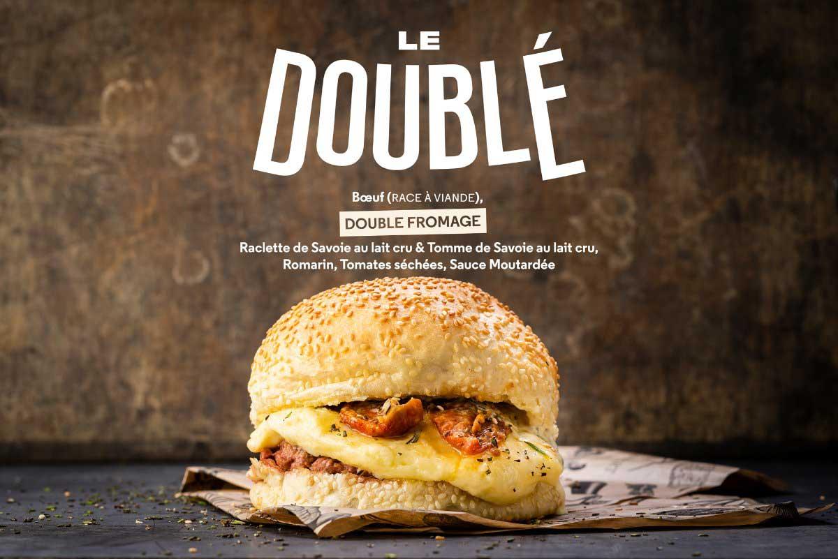 Le Doublé, burger éphémère coupe du Monde de Football par Big Fernand