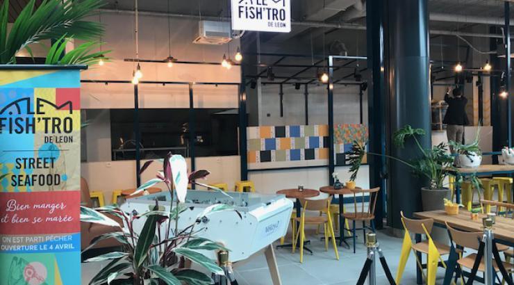 Léon de Bruxelles lance Fish'tro son concept street food à Vélizy 2 et Créteil Soleil