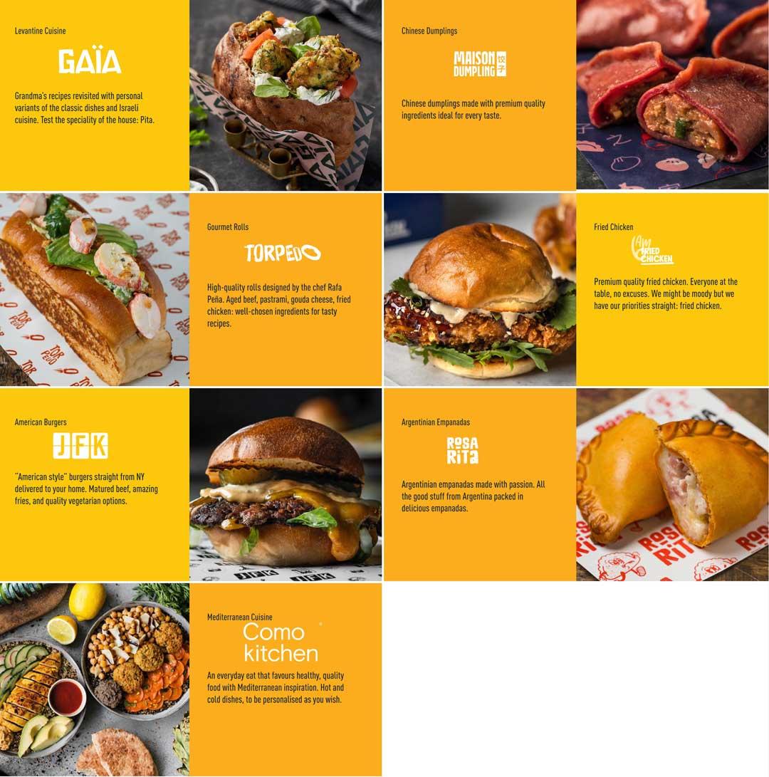 Not So Dark crée exclusivement des marques en ligne avec des menus attrayants pour les clients à des vitesses de livraison exceptionnelles