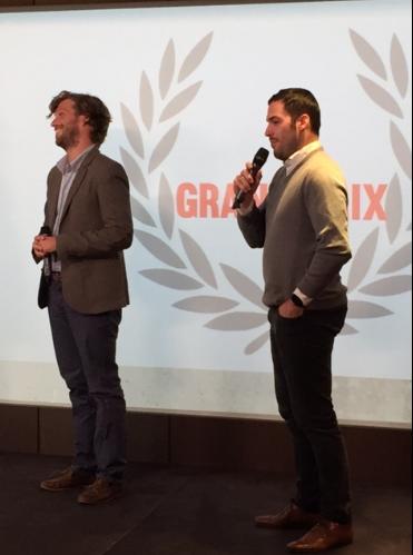 Grands Prix des Jeunes créateurs du Commerce David et Maxens de Persillé