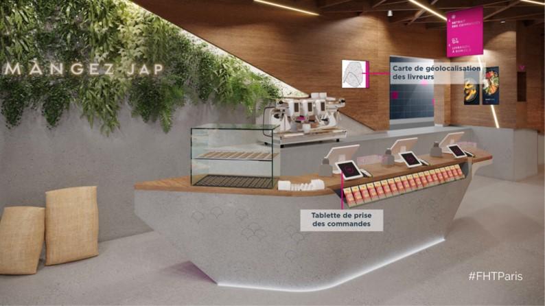 Planet Sushi, nouveau concept de restaurant à l'expérience phygitale