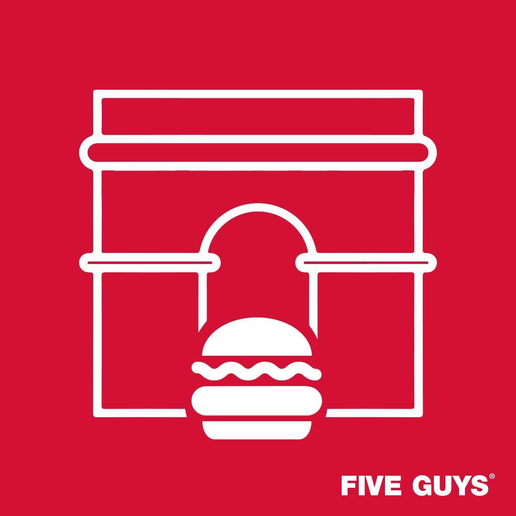 Five Guys ouvre son plus grand restaurant au monde... à Paris