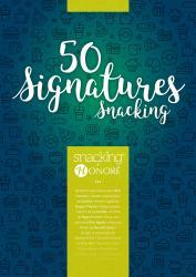 CookBook 50 signatures Snacking