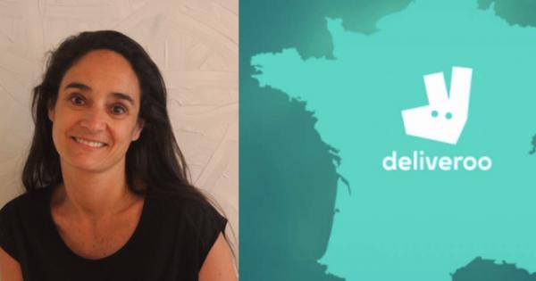 La nouvelle DG de Deliveroo France Melvina Sarfati El Grably