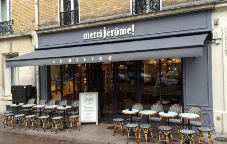Merci Jérôme ! ouvre à Levallois avec son néobistro à emporter relifté