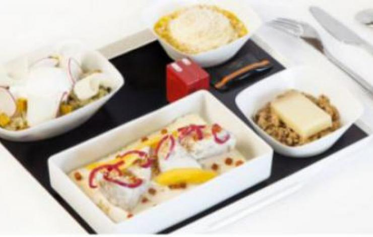 Snacking.fr, Le chef Jean Imbert vole pour Air France