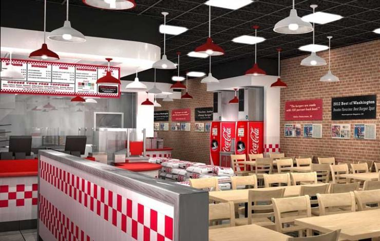 Five Guys s'installe à Disney Village début 2017