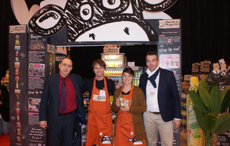Des PME lauréates Snacking d'Or invitées au salon régional INTERMARCHE