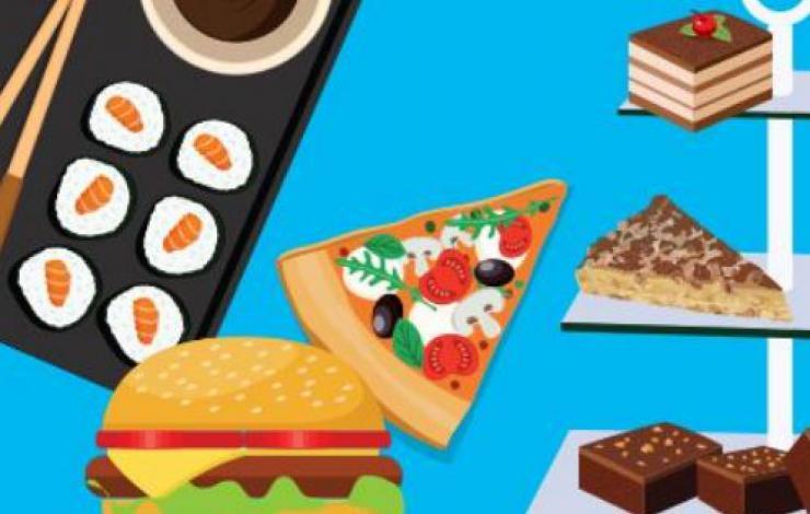 Les sushis, le plat le plus commandé par les Français en 2016