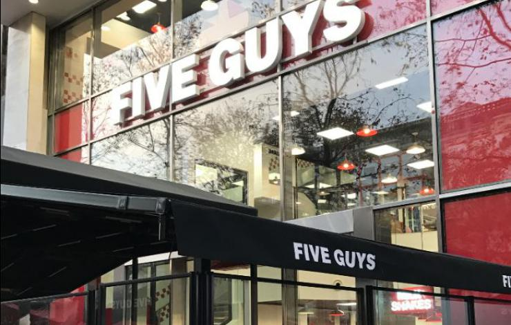 Five Guys bientôt à Lille