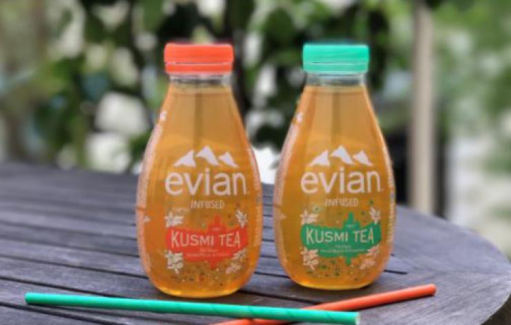 Danone Eaux s'associe à Kusmi Tea pour lancer sa boisson au thé
