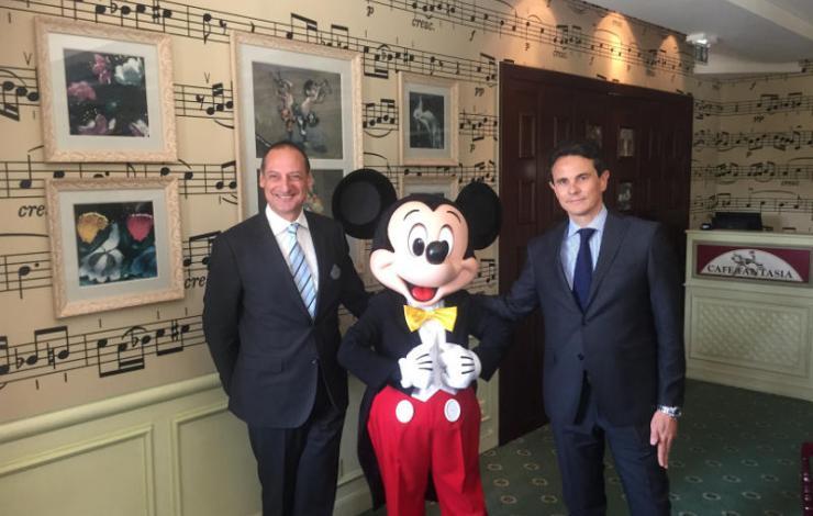 Segafredo Zanetti et Disneyland Paris partenaires pour 5 ans