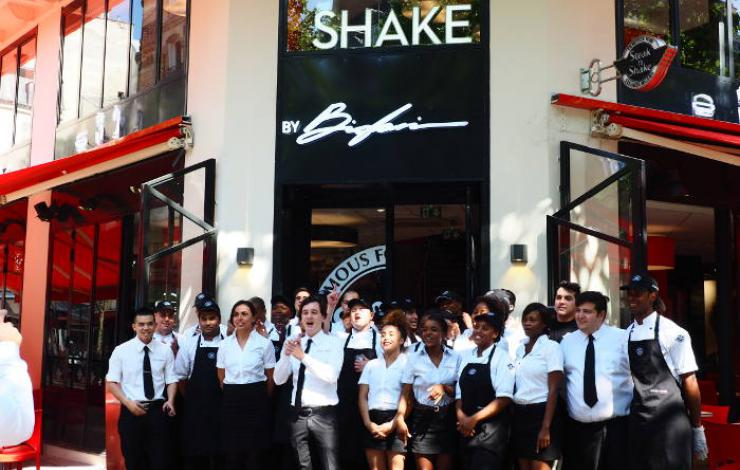 Le 1er Steak'n Shake à Paris est ouvert !