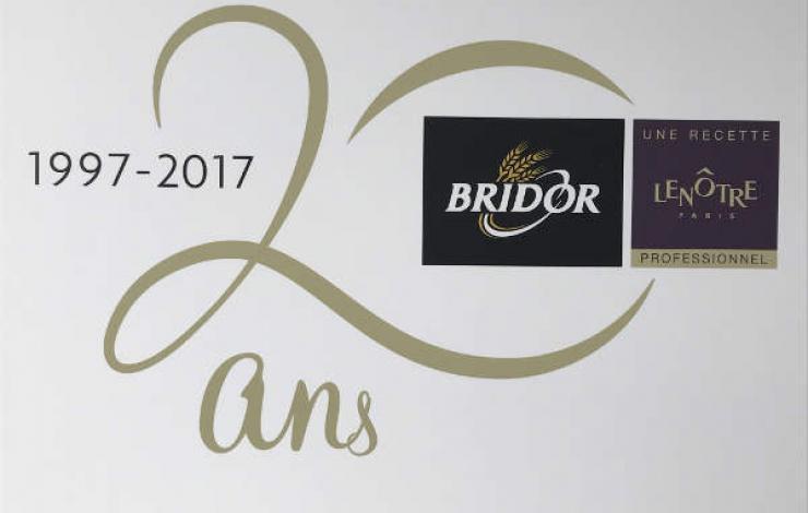 Bridor et Lenôtre fêtent 20 ans de partenariat