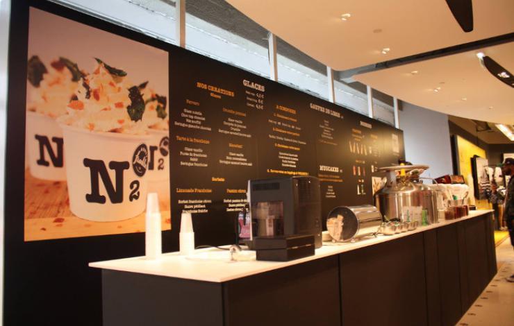 N2 Extreme Gelato installe sa 4e antenne parisienne au Citadium Champs-Elysées
