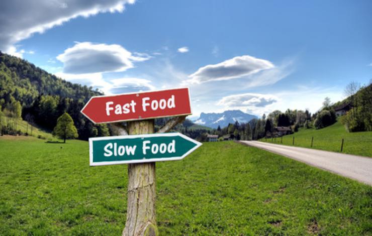 Les Français de plus en plus slowfood-sensibles
