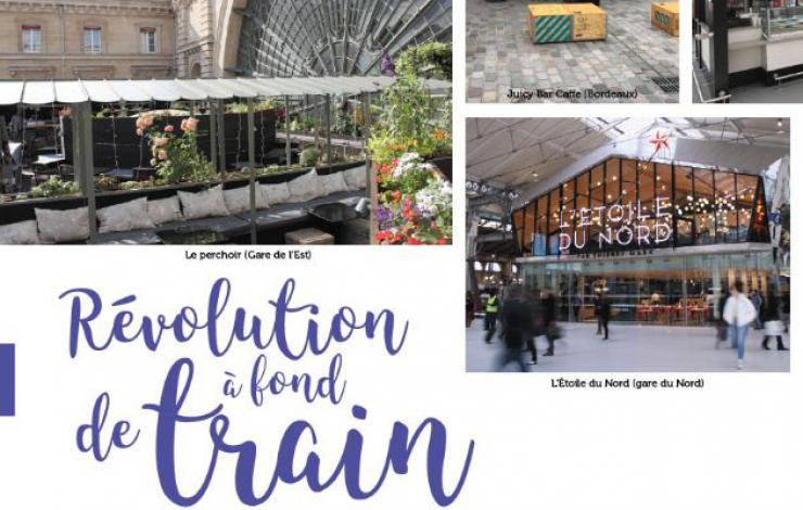 La restauration en gare, révolution à fond de train