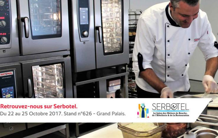 Le programme très gourmand (et très snacking!) de RATIONAL au salon Serbotel 2017