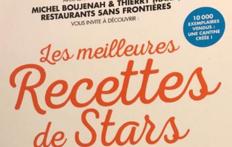 Les meilleures recettes de Stars pour soutenir Restaurants Sans Frontières