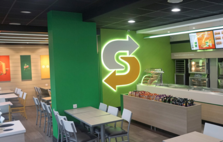 Subway croit en son nouveau concept point de vente