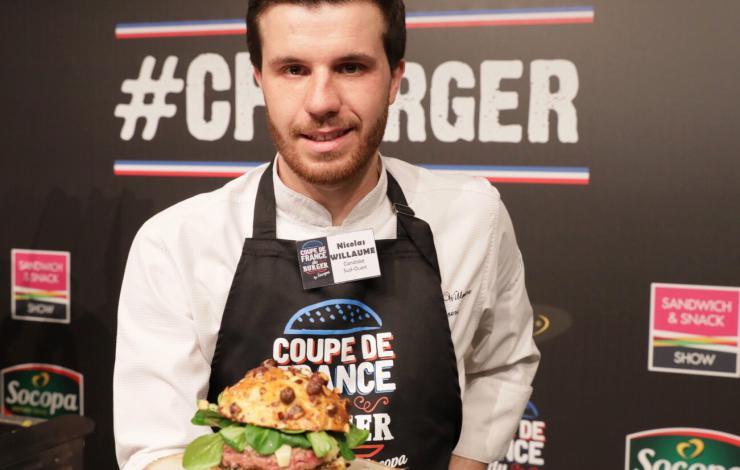 Nicolas Willaume remporte la Coupe de France de Burger 2018 by Socopa