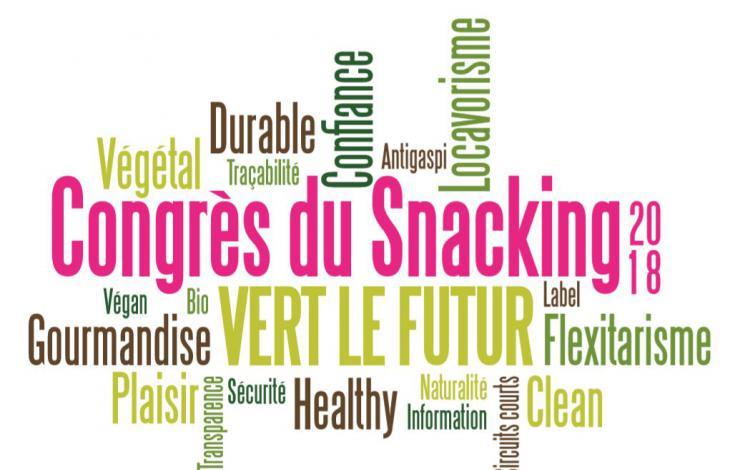 Le 9e Congrès du Snacking met le cap VERT LE FUTUR