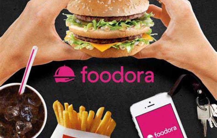 Foodora livre certains McDonald's parisiens