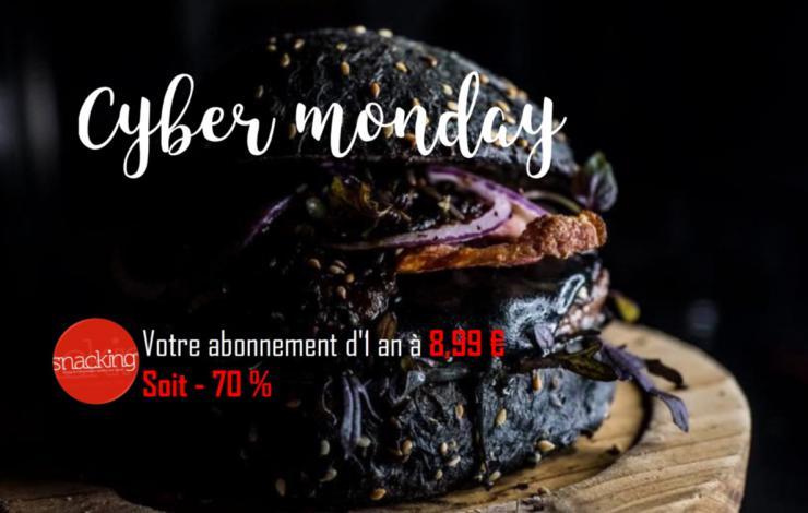 Le Cyber Monday chez France Snacking ? Votre abonnement print + web à 8.99 €!