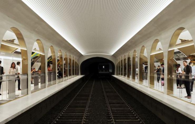 Terminus, une halle alimentaire à 9 mètres sous terre dans le métro Parisien